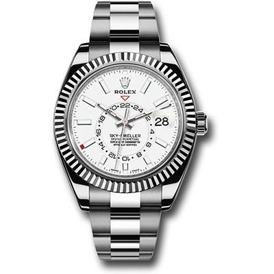 Rolex Sky-Dweller 326934 Steel White Dial