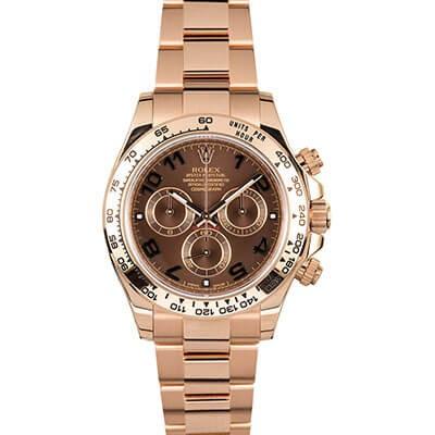 Rolex Daytona 116505 Rose Gold Chocolate Dial