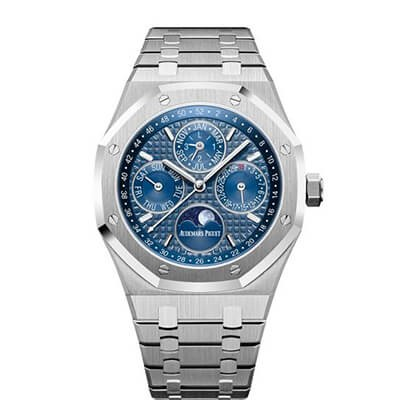 Audemars Piguet Royal Oak Perpetual Calendar Steel Blue