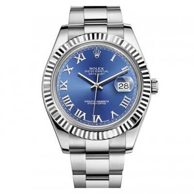 Rolex DateJust II 116334 Blue Dial