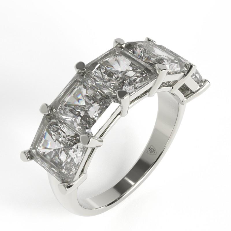Elsa - Crisscut Diamond Five