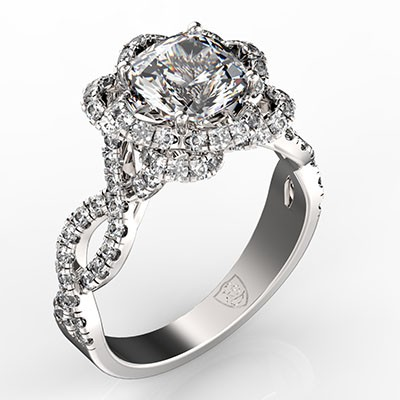 Twirl Cushion Cut