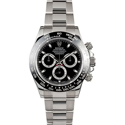 Rolex Daytona Custom Ceramic Steel Black 116520