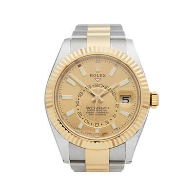Rolex Sky-Dweller 326933 Steel & Gold