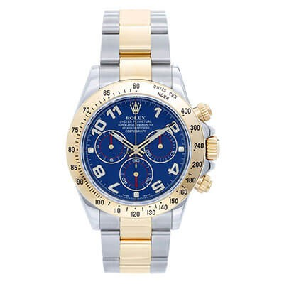 Rolex Daytona 116523 Steel & Gold Blue Dial