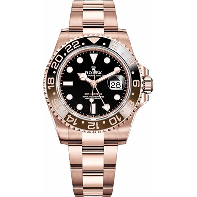 Rolex GMT Master II Rose Gold 126715CHNR