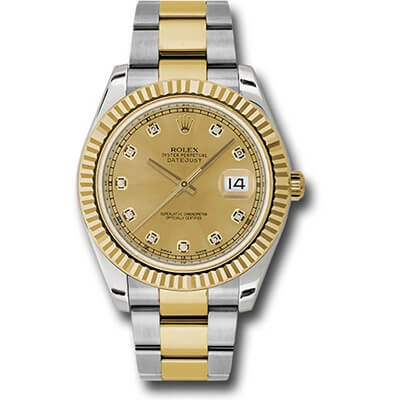Rolex DateJust II 41mm 116333 Diamond Dial