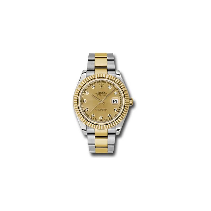 Rolex DateJust II 41mm 116333 Diamond Dial