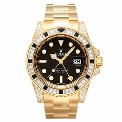 Rolex GMT-Master II 116758SANR Yellow Gold