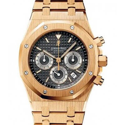 Audemars Piguet Royal Oak 25960 Rose Gold Grey