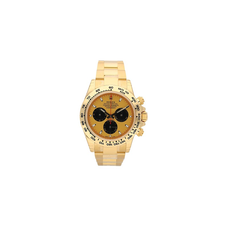 Rolex Daytona Yellow Gold Champagne Dial Mint