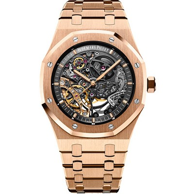 Audemars Piguet Royal Oak Openworked Rose Gold