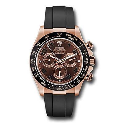 Rolex Daytona 116515 Rose Gold Chocolate Dial