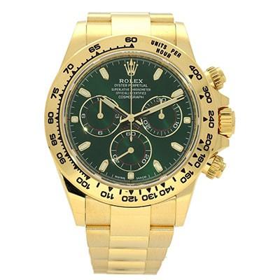 Rolex Daytona 116508 Green Dial Anniversary