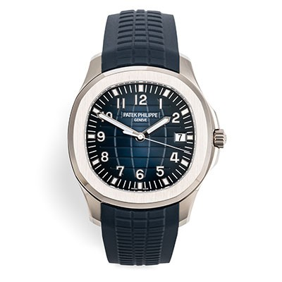 Patek Philippe Aquanaut White Gold Blue SEALED